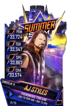 SuperCard AJStyles S4 21 SummerSlam18