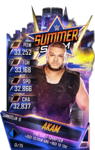 SuperCard Akam S4 21 SummerSlam18