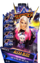 SuperCard AlexaBliss S4 21 SummerSlam18