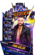 SuperCard FinnBalor S4 21 SummerSlam18