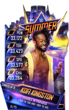 SuperCard KofiKingston S4 21 SummerSlam18