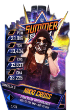 SuperCard NikkiCross S4 21 SummerSlam18