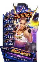 SuperCard RondaRousey S4 21 SummerSlam18