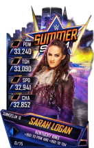 SuperCard SarahLogan S4 21 SummerSlam18