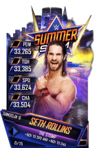 SuperCard SethRollins S4 21 SummerSlam18