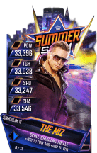 SuperCard TheMiz SummerSlam18