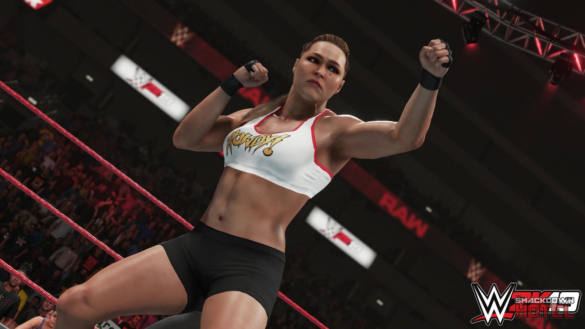 WWE 2K19: First Ronda Rousey Screenshot Released