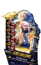 SuperCard LukeGallows S4 20 Goliath Fusion
