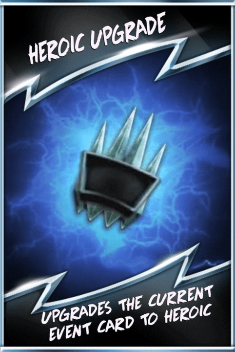 SuperCard Special RTG HeroicUpgrade