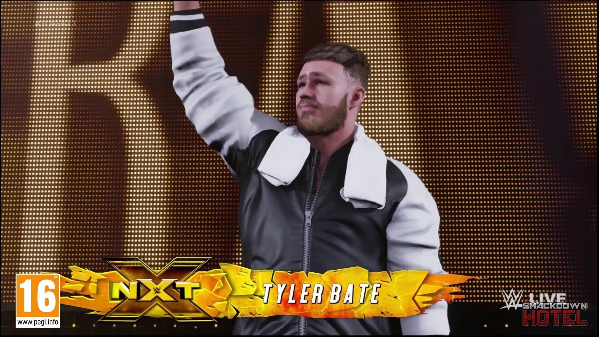 WWE 2K19 : Pete Dunne & Tyler Bate - Entrées + screenshots  WWE_2K19_TylerBate_1-15328-1080