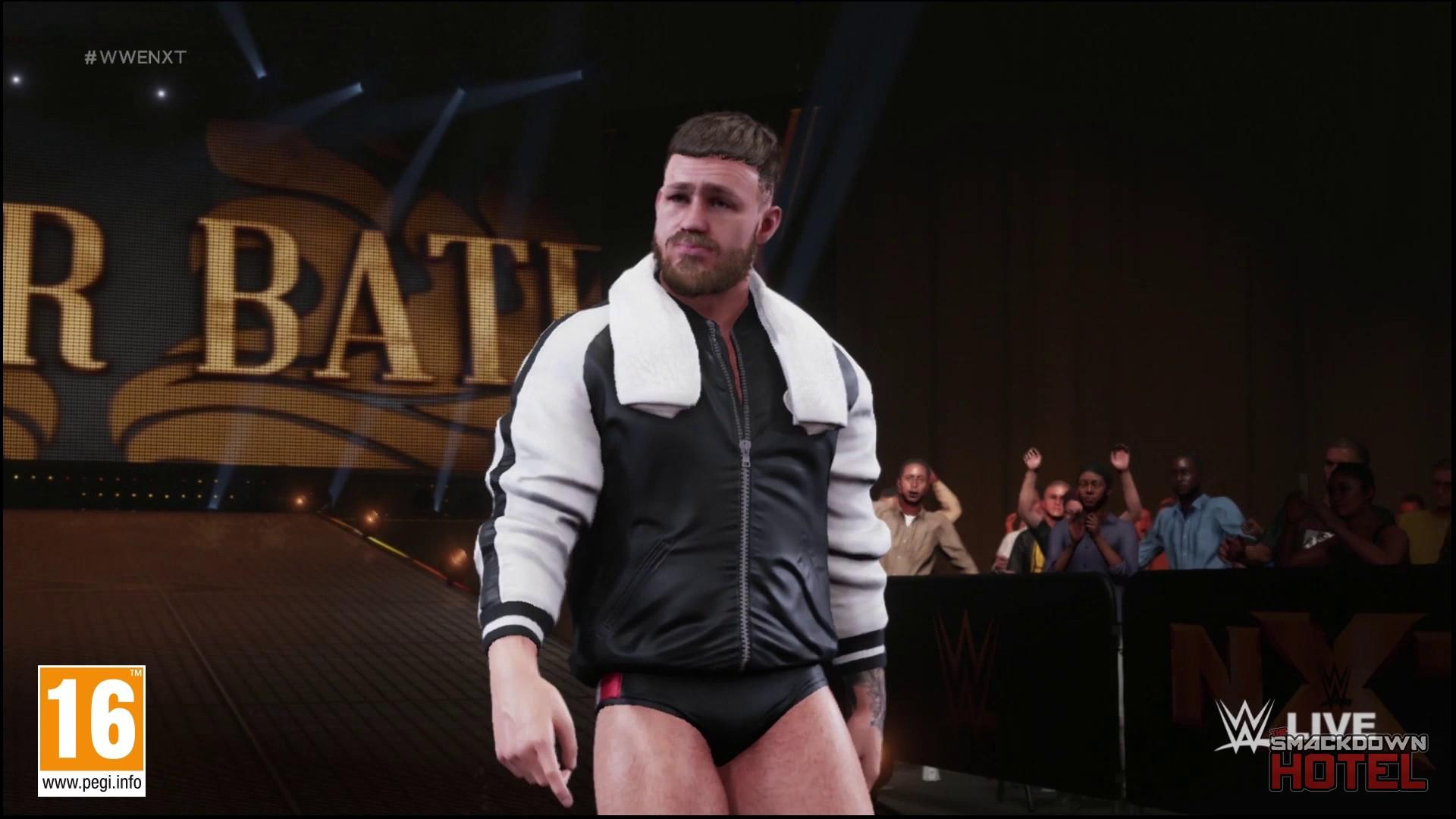 WWE 2K19 : Pete Dunne & Tyler Bate - Entrées + screenshots  WWE_2K19_TylerBate_2-15329-1080
