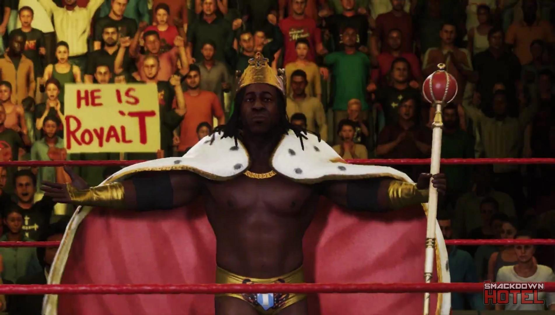 WWE2K19 BookerT KingBooker