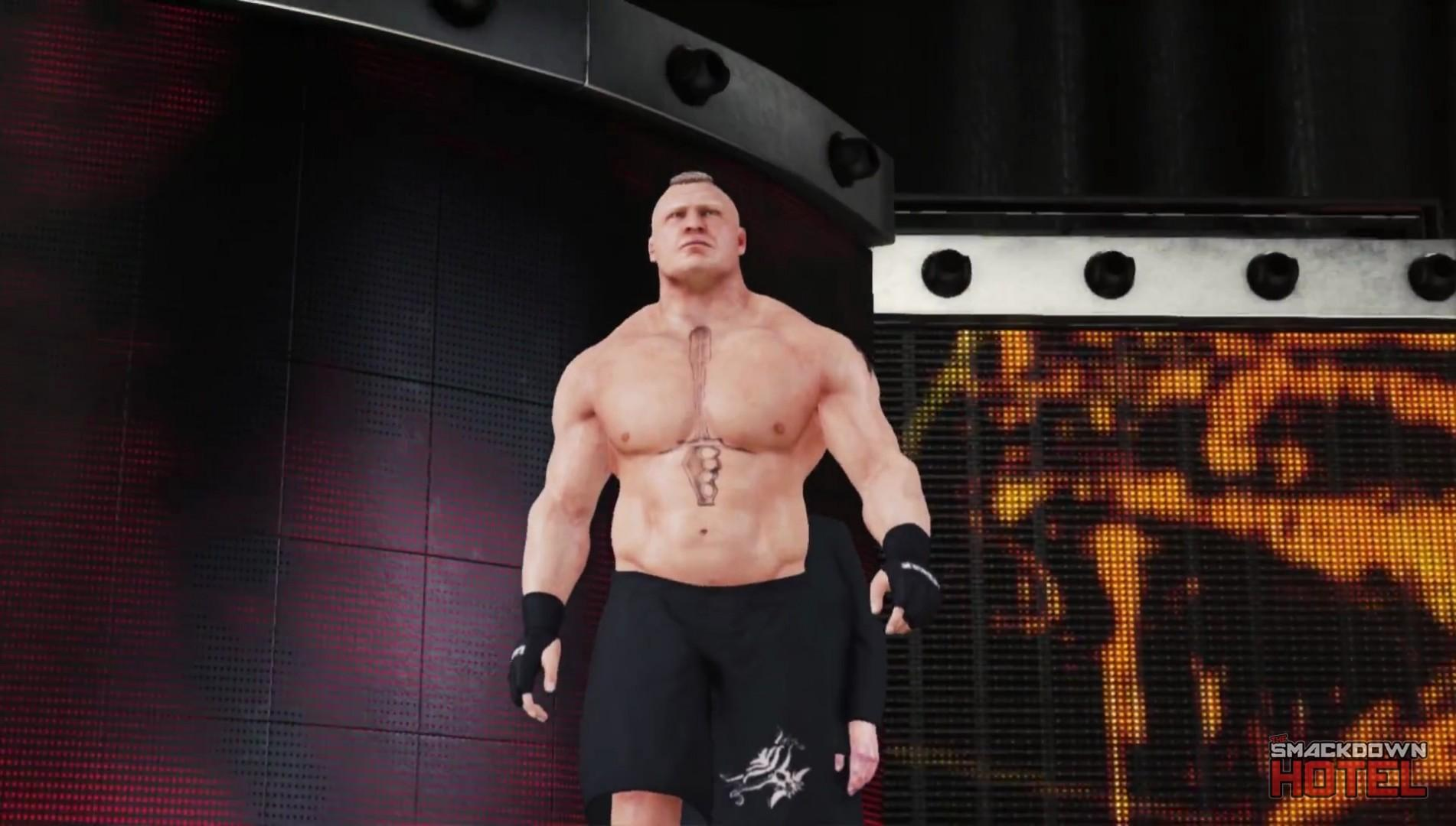 WWE2K19 BrockLesnar