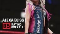 WWE2K19 RatingReveal AlexaBliss
