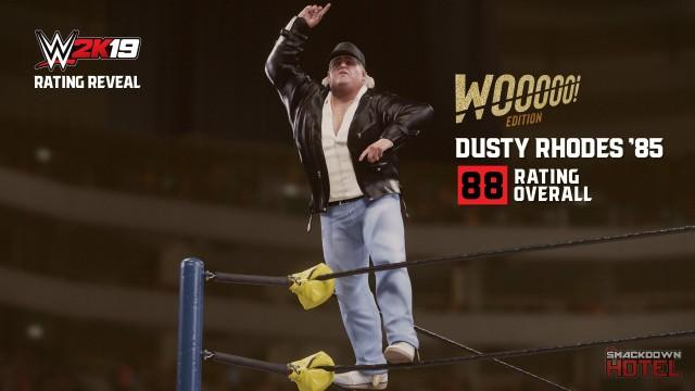 WWE2K19 RatingReveal DustyRhodes85