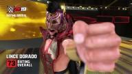 WWE2K19 RatingReveal LinceDorado