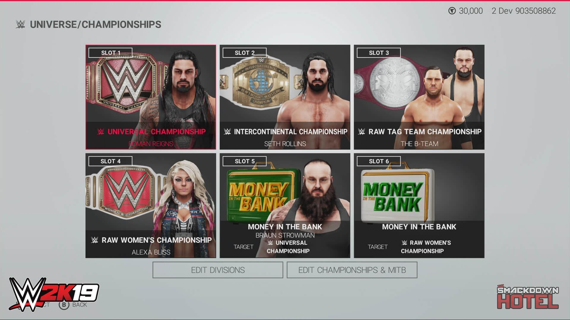 WWE 2K19 Features Round-up Part 2: WWE Universe Mode - WWE