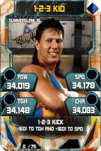SuperCard 123Kid S4 21 SummerSlam18 Throwback
