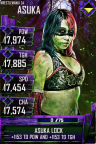 SuperCard Asuka S4 19 WrestleMania34 Halloween