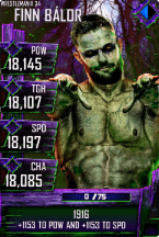 SuperCard FinnBalor S4 19 WrestleMania34 Halloween
