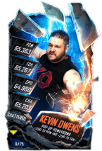SuperCard KevinOwens S5 24 Shattered