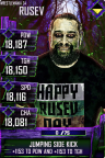 SuperCard Rusev S4 19 WrestleMania34 Halloween