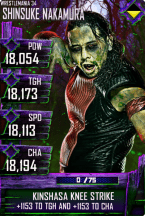SuperCard ShinsukeNakamura S4 19 WrestleMania34 Halloween
