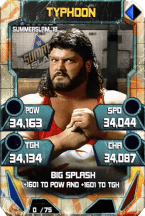 SuperCard Typhoon S4 21 SummerSlam18 Throwback