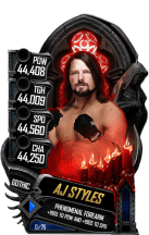 SuperCard AJStyles S5 22 Gothic