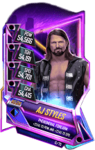 SuperCard AJStyles S5 23 Neon