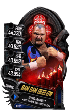 SuperCard BamBamBigelow S5 22 Gothic