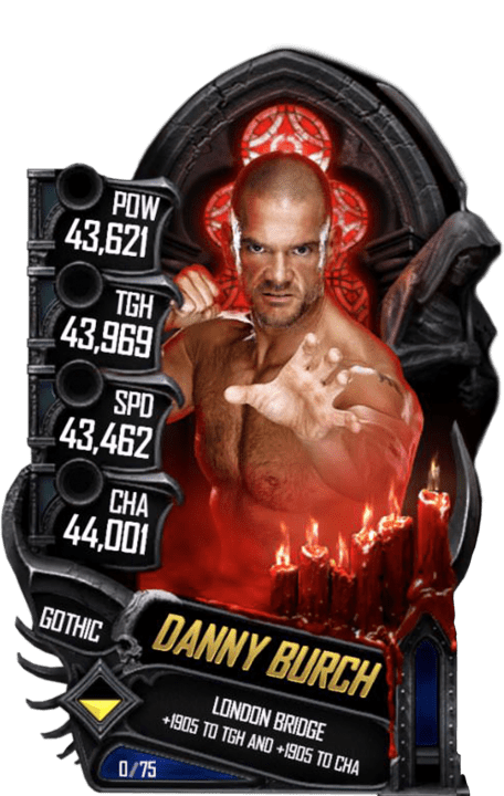 SuperCard DannyBurch S5 22 Gothic