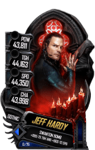 SuperCard JeffHardy S5 22 Gothic