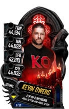 SuperCard KevinOwens S5 22 Gothic