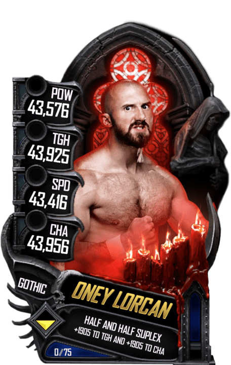 SuperCard OneyLorcan S5 22 Gothic