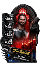SuperCard SethRollins S5 22 Gothic