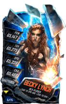 SuperCard BeckyLynch S5 24 Shattered