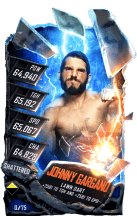 SuperCard JohnnyGargano S5 24 Shattered