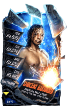 SuperCard ShinsukeNakamura S5 24 Shattered