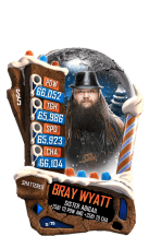 SuperCard BrayWyatt S5 24 Shattered Christmas