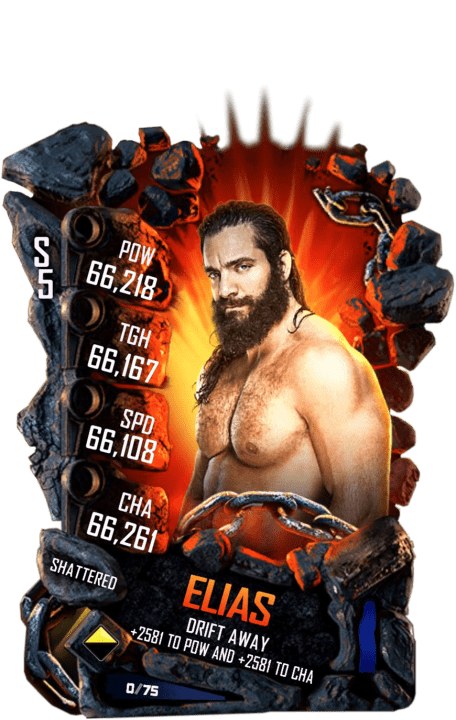 SuperCard Elias S4 24 Shattered Event