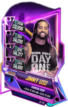 SuperCard JimmyUso S5 23 Neon