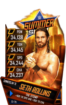 SuperCard SethRollins S4 21 SummerSlam18 RingDom