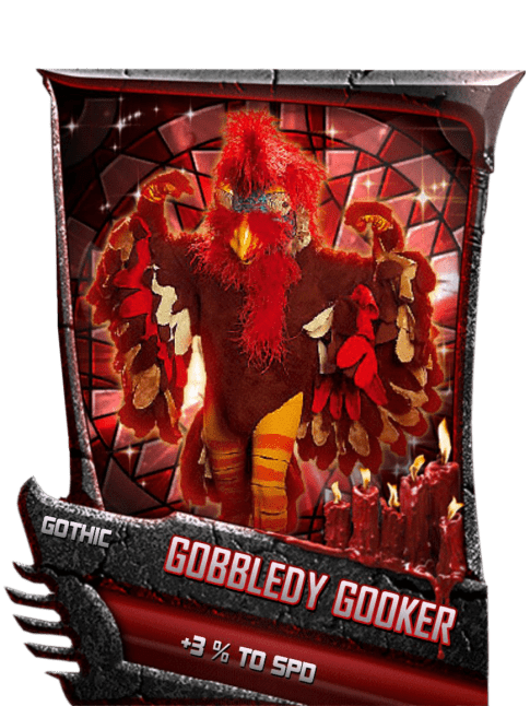 SuperCard Support GobbledyGooker S5 22 Gothic