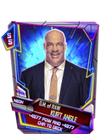 SuperCard Support KurtAngle S5 23 Neon