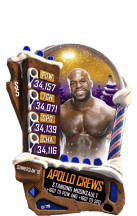 SuperCard ApolloCrews S5 21 SummerSlam18 Christmas