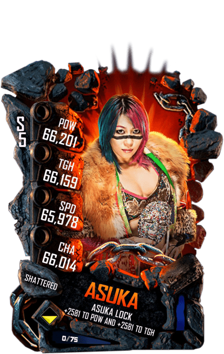 SuperCard Asuka S5 24 Shattered Event