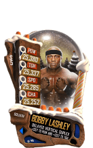 SuperCard BobbyLashley S5 20 Goliath Christmas