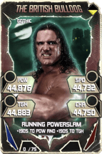 SuperCard BritishBulldog S5 22 Gothic Throwback