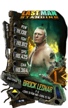 SuperCard BrockLesnar S5 24 Shattered LMS